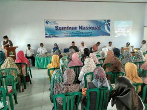 """Seminar Nasional """"Literasi Produktif Berbasis IT Dalam Pembelajaran Abad 21"""" yang diselenggarakan oleh IGI Kabupaten BIma. Rabu, 31/08/2016"""
