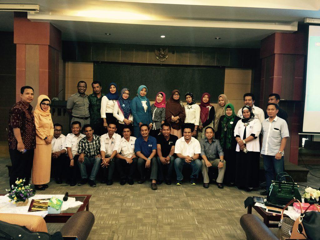 Konsolidasi IGI Pusat dan IGI Wilayah Sultra di LPMP Sultra