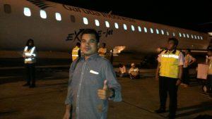 Terbang bersama Garuda, Terima kasih pak Dirjen GTK Kemdikbud atas bantuan Garuda Miles nya...